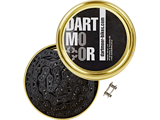 "DARTMOOR Core Bicycle Chain 3/32"", black"
